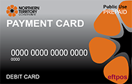 NTG payment card
